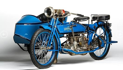 1915 Henderson Model D With Rogers Sidecar
