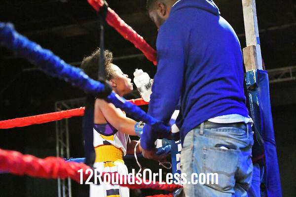 Bout #9:  Ashley Silva, Red Gloves, DNA Level C BC, Fort Wayne, IN   vs   Mariah Bonner, Blue Gloves, Bob Davis BC, Cleveland, OH, 110 Lbs.