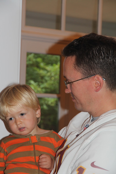 Elliot and his Uncle Edward