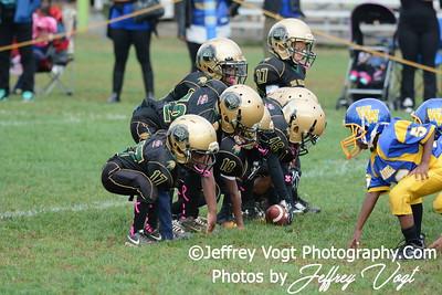 10-04-2014 Montgomery Village Sports Association Chiefs vs Woodridge Warriors Super Tiny Mites, Photos by Jeffrey Vogt Photography