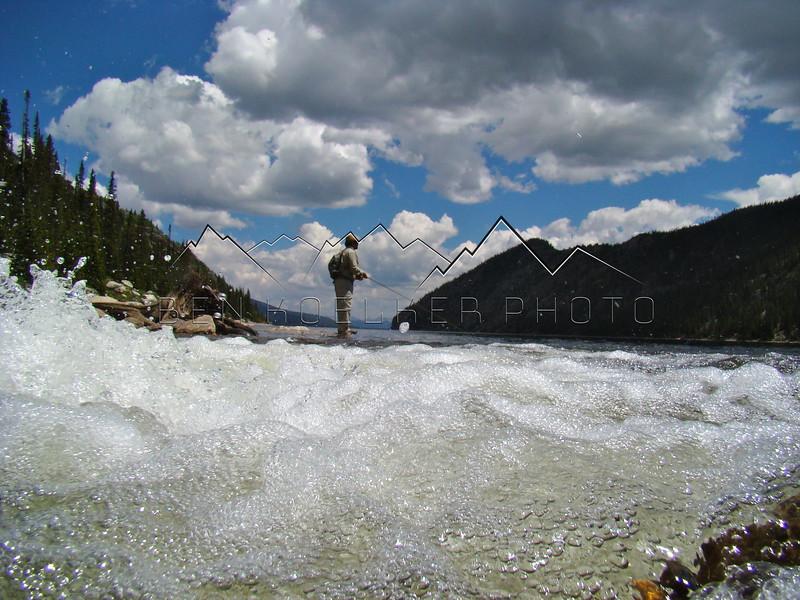 Fly Fishing Homestake Reservoir, CO.