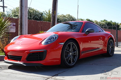 2019 Porsche Carrera T Red