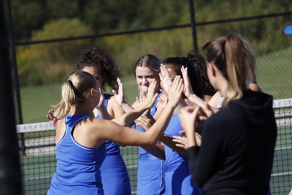 '19 NDCL Girls Tennis Meet vs. Padua