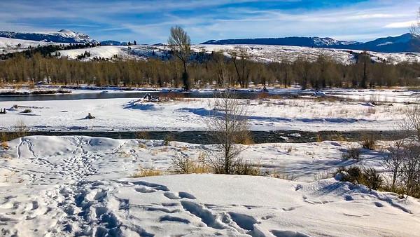 The Snake River in Grand Teton National Park