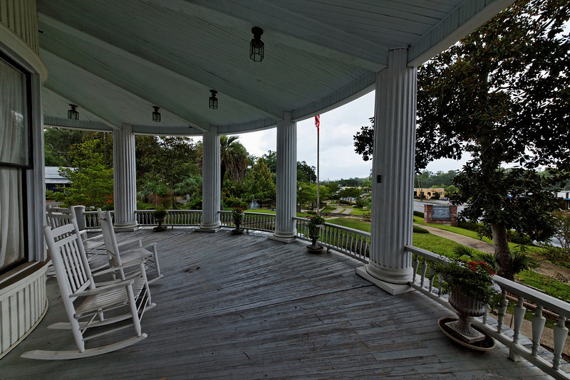 Russ House Porch, Marianna, Florida
