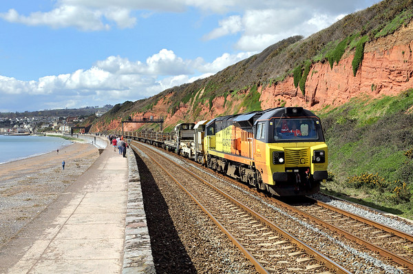 17th April 2016: Dawlish, Exmouth and Exeter