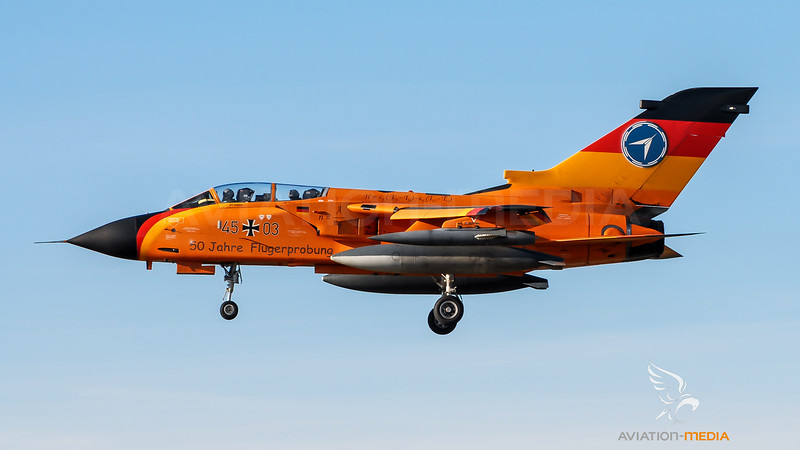 German Air Force WTD61 / PANAVIA Tornado IDS / 45+03 / 50 Year Test Livery