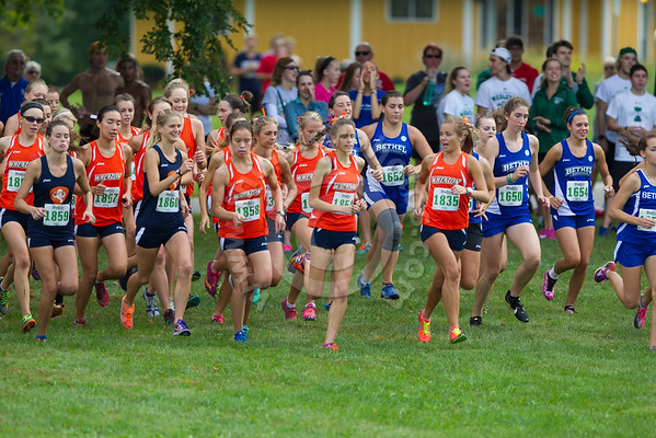Wheaton College Cross Country at Gil Dodds Invitational, St James Farm, September 17, 2016