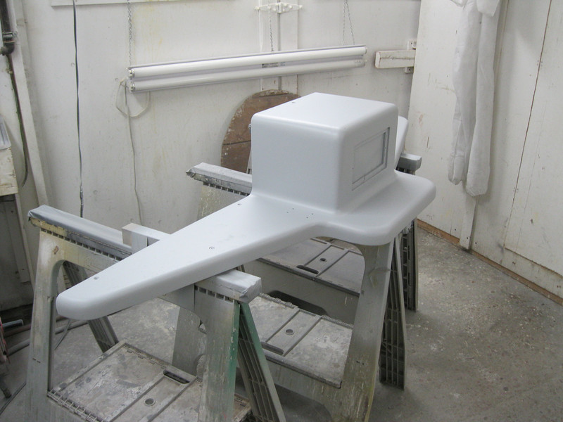 Port view with primer applied.