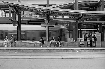 Mpls Lightrail Station