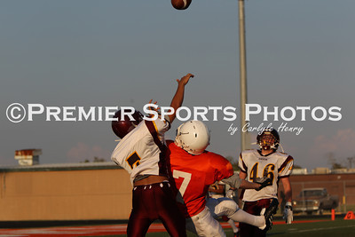 La Porte Freshman B Football vs Deer Park 9/22/2011