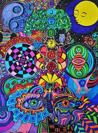 Lauren Coakley Drawings and Paintings