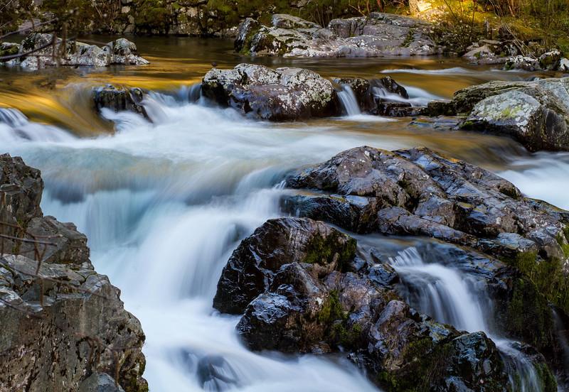 Sunset Falls, South Fork, Lewis River