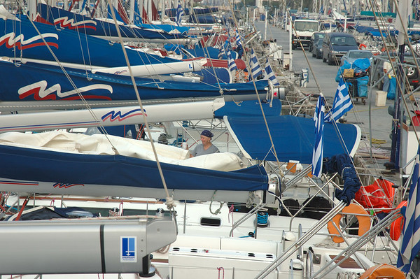 Day 10 - Kalamaki Marina, Athens, Greece