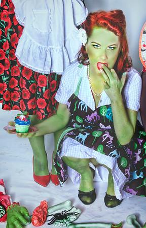 Model: Gemmi Galactic of Friskly Business Burlesque - Austin, Texas