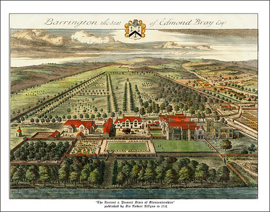 Architectural Prints  Johannes Kip and of The Ancient and Present State of Gloucestershire