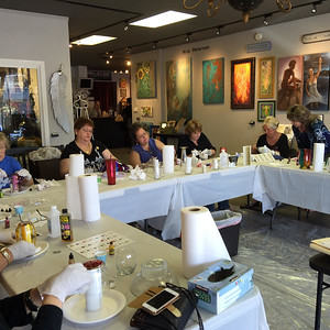 Dyana Preti's Glass Painting Class FUNdraiser