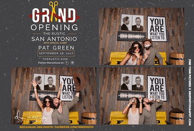 Rustic Grand Opening