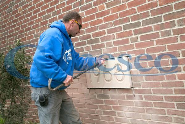 Corner Stone Removal