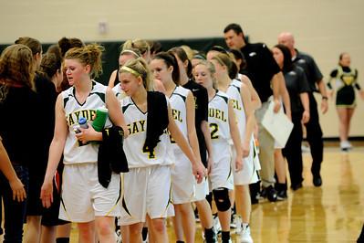 Girls Varsity Basketball - ADM 2011-2012