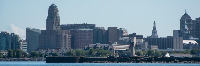 Buffalo skyline