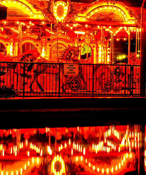Navy Pier Merry Go Round