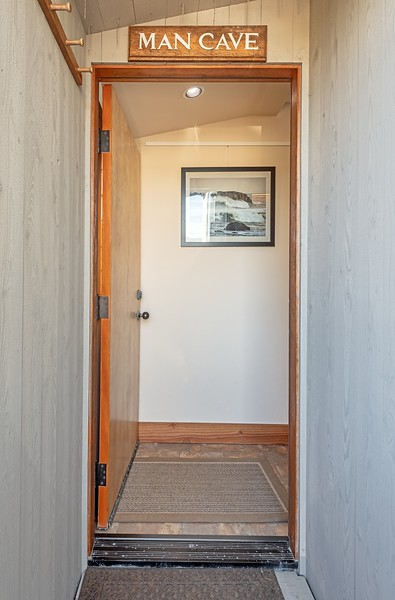 Entrance to Guest House Above Garage