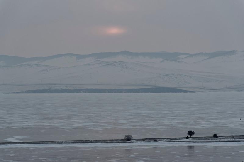 Kurma - sunrise over Maloe More
