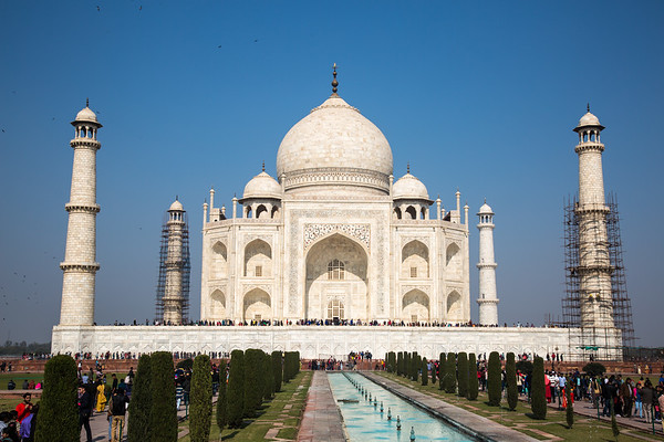 Taj Mahal - Agra, India - December, 2015