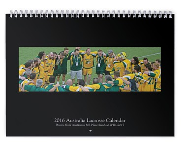 2016 Australia Lacrosse Calendar (WILC2015)
