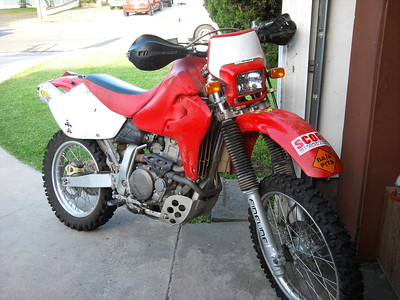 XR650R Adventure Bike