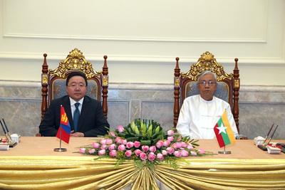 Ерөнхийлөгч Ц.Элбэгдорж өнөөдөр Мьянмарын Холбооны Бүгд Найрамдах Улсад айлчилж байна