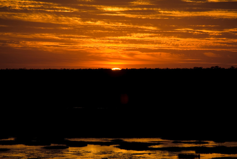 Sunset Over Wetlands 5, Kakadu National Park - Northern Territory, Australia