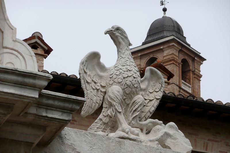 Porta Valbona. Urbino, Marche