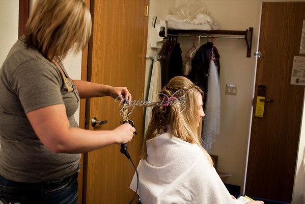 Getting Ready - Cassy and Jason
