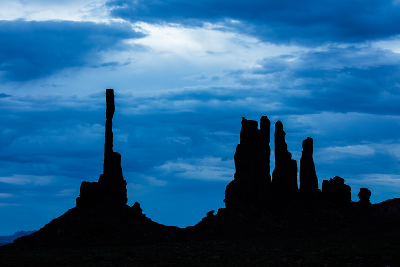 Monument Valley, Totem silhouette