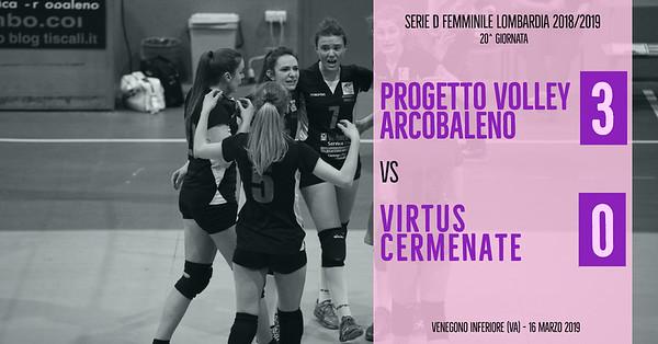 LOM-Df: 20^ Progetto Volley Arcobaleno - Virtus Cermenate
