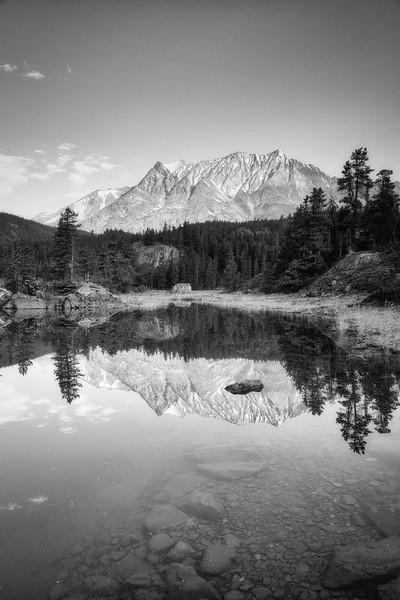 Cathedral Mountain Reflection