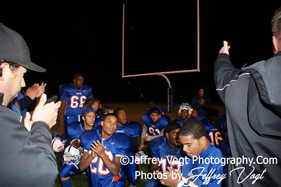 10-29-2010 Watkins Mill HS vs Einstein HS Varsity Football, Photos by Jeffrey Vogt Photography