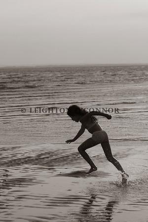 Beach Images ( Black & White- Sepia)