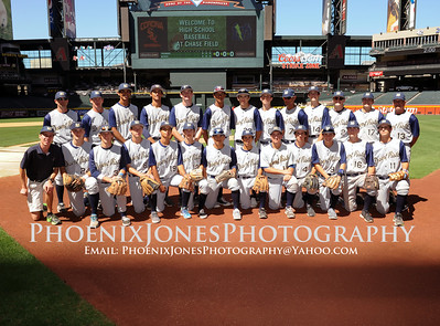 4-9-2015 - Corona del Sol v Desert Vista At Chase Field - Baseball