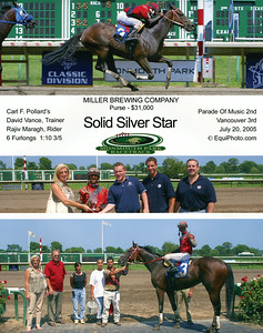 SOLID SILVER STAR - 7/20/2005