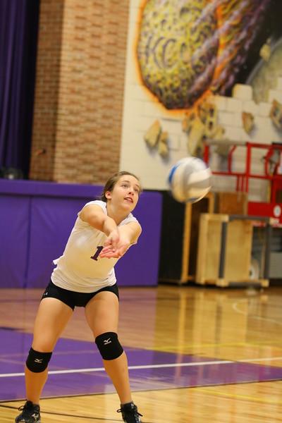 Volleyball Frosh vs. Homeschool - KCHS - 9/19/16