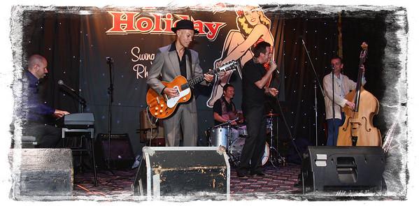 Hep Cats Holiday July 2011- Drew Davies Rhythm Combo