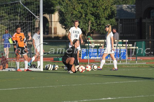 CHCA 2012 Girls Var Soccer vs Reading 09.10