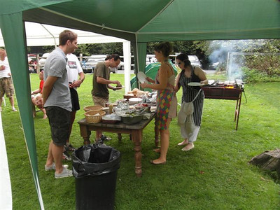 Harriers BBQ - 190812