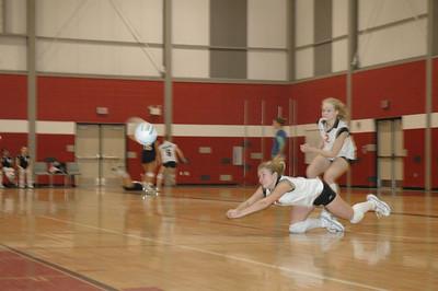 Girls Freshman Volleyball - 2005-2006 - 2/2/2006 vs. Fruitport JG