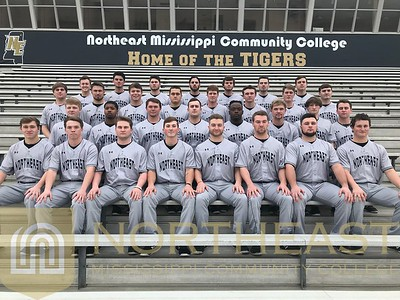2018-01-19 BB Baseball Team Photo at Football Stadium