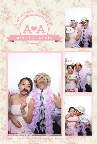 Ashley + Alvin (Luxe Booth)