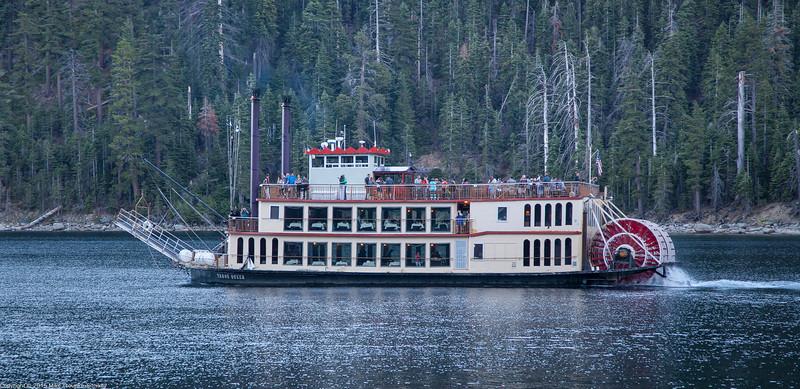 Tahoe Queen in Emerald Bay
